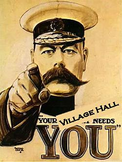 Your Village Hall Needs You